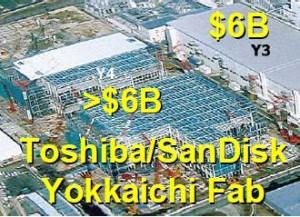 SanDisk-Toshiba Yokkaichi Plant from WD 2007 IDEMA Presentation