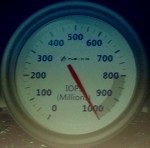 Meter Showing Fusion-io's Billion IOPS Performance