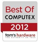 Tom's Hardware Best of Computex 2012 Award for Corsair Neutron Series SSDs