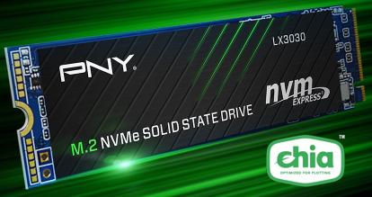 Beauty Shot of PNY LX3030 Chia SSD